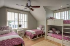 If you have two kids, a bunk bed can make them comfortable. But what if you have four kids? How can you deal with the space configurations to make the small room be spacious and tidy? The decor choices seem not easy especially your kids are of two genders and in different ages. Here we …