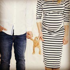 Baby Babybauch Teddy Bär Geburt Paar Schwangerschaft Liebe