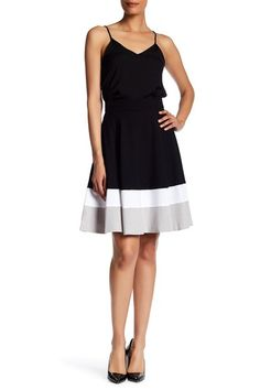 Colorblock Zip Skirt by Amanda