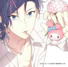 Hot Anime Boy, Me Anime, Manga Anime, Anime Art, Anime Boys, Sanrio Hello Kitty, Little Twin Stars, Sanrio Characters, Anime Characters