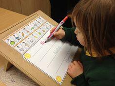 Methode d'écriture adaptée à l'enfant porteur de Trisomie 21.