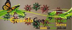 NAVIDAD - CREANDOCONADRIANA Beads, Plants, Christmas, Log Projects, Light Installation, Holiday Wreaths, Beaded Bracelets, Vases, Trapper Keeper