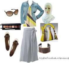 """Urban Girl 3"" by jamericanmuslimah on Polyvore"
