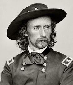 Custer, Civil War portrait