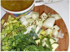 thermomix et IG bas: Soupe vert à bas IG