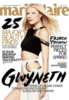 Guess what? Gwyneth Paltrow is our February cover girl!