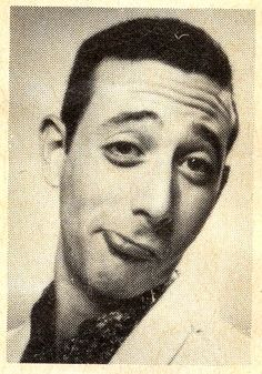 Paul Reubens - PeeWee Herman - such a punim on this guy