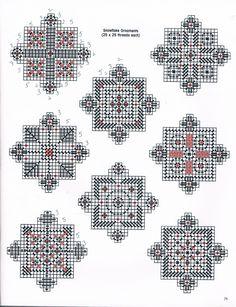 Snowflake Ornaments 2/2