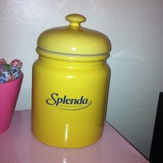 Splenda Cookie Jar