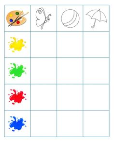 Learning Color Activities for Kıds Aba Therapy Activities, Color Activities, Preschool Activities, Brain Teasers For Kids, Printable Preschool Worksheets, Math Problem Solving, Teaching Schools, Math For Kids, Learning Colors