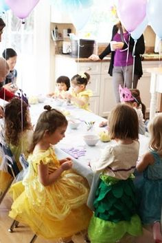 The Larson Lingo: Kate's Cinderella Party