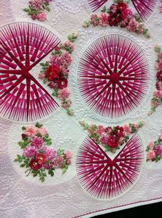 Absolutely amazing quilting and embroidery