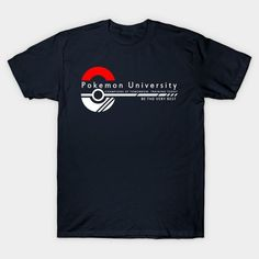 Pokemon University - College Wear - Mens T-Shirt