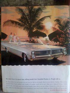 1964 Bonneville Pontiac / Wide Track Pontiac / by Lauralous
