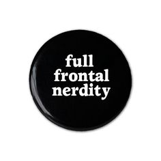 Full Frontal Nerdity  Magnet by YellowBugBoutique on Etsy