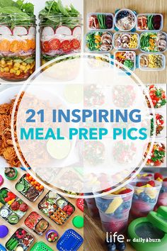 Make meal prep easier with these pics. via Daily Burn