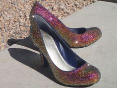 Volcano Swarovski Crystal Shoes
