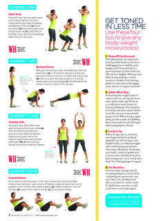 Anytime workout page 2