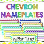 Chevron Nameplates FREEBIE!