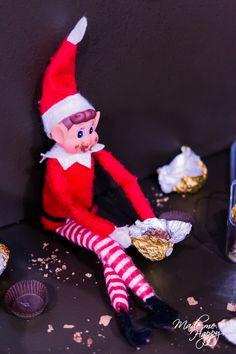 Elf On The Self, The Elf, Awesome Elf On The Shelf Ideas, Holiday Fun, Holiday Decor, Christmas Elf, Merry Xmas, Enchante, Advent Calendar
