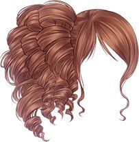 【清|筱箬】免抠❤暖暖❤服饰_暖暖环游世... Wedding Dress Sketches, Pelo Anime, Manga Hair, Cute Hairstyles, Anime Hairstyles, Hair Sketch, Fantasy Hair, Hair Reference, Estilo Anime