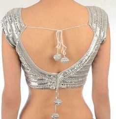 10 Best Blouse Back designs for Indian brides http://blushingindianbride.com/10-best-blouse-back-designs-for-indian-brides/