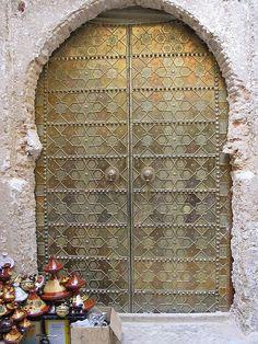 Doors ~ Karaouine mosque, Fès