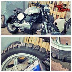 Mitas E10 K100 Scrambler, Street Scrambler, Bmw Cafe Racer, Cafe Racers, Bmw R1100gs, Bmw K100, Brick, Motorcycle, Culture