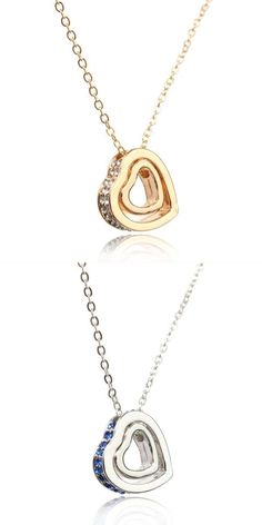 Ladies New Stylish Fashion Vintage Style Bronze Leopard Heart Pendant Neclace UK