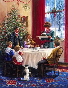 An Old Fashioned Christmas➺❃ Old Time Christmas, Old Fashioned Christmas, Christmas Past, Victorian Christmas, Winter Christmas, Christmas Fashion, Christmas Christmas, Christmas Cookies, Christmas Crafts