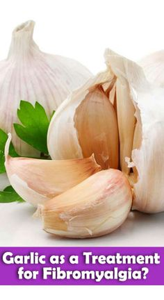 Whether or not garlic tastes good is up to you to decide, but believe it or not, garlic may turn out to be a viable treatment for fibromyalgia. Garlic contains antibiotic properties, which is the reason it could be a good treatment plan. Chronic Fatigue, Chronic Illness, Fibromyalgia Supplements, Irritable Bowel Syndrome, Hypothyroidism, Migraine, Arthritis, Garlic, Health
