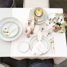 We are ready for our pressevent at Paradehuset, Frederiksberg Broste Copenhagen Nordic Sand, Diner Table, Dere, Nordic Interior, Scandi Style, Nordic Design, Table Settings, Place Settings, Tableware