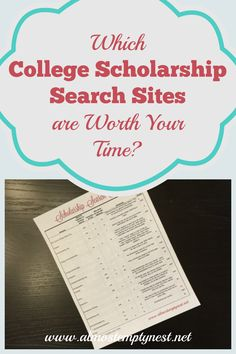 Ratings of 16 College Scholarship Search Sites