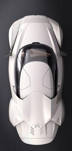 Macchine/Cars Macchine/Cars Citroen GT by Citroën Concept 2008 Car Top View, Peugeot, Mens Toys, Ex Machina, Transportation Design, Automotive Design, Car Car, Fast Cars, Exotic Cars