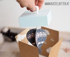 Abgehoben Stampin up Bastelritter Heißluftballon