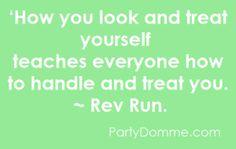 Rev Run quote