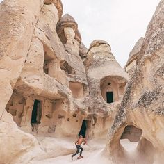 Perfect place for skating, Cappadocia, #Turkey Photo by @doyoutravel