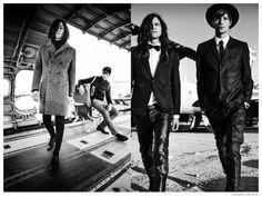 Imagen Campaña publicitaria 2014 Miles McMillan + Mateo Hitt Rock Styles fresca de moda para DRYKORN DRYKORN Otoño Otoño Invierno 2014 Ad Campaign 008
