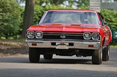1968 Chevrolet Chevelle SS396.  I once rode in a the same car with my first boyfriend...ahhhh