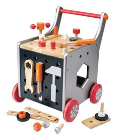 Look what I found on #zulily! Magic Cabin Toolbox Trolley by Magic Cabin #zulilyfinds