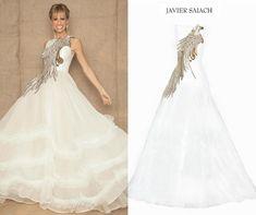 Imagen relacionada One Shoulder Wedding Dress, Wedding Dresses, Fashion, Bride Gowns, Wedding Gowns, Moda, La Mode, Weding Dresses, Wedding Dress