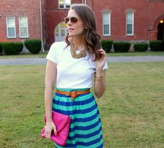 The Pink Peonies - 'Her Go-To Summer Look' - Guest Post - Kimberly from Penny Pincher Fashion #ppfgirl
