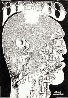 Unpublished pre-Zap cover art by Robert Crumb 1967. Unpublished pre-Zap cover art by Robert Crumb 1967.