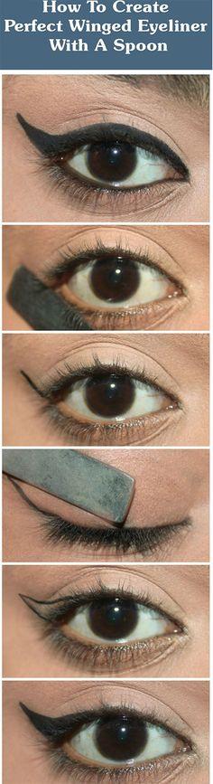 winged-eyeliner-using-spoon-hacks-tips-tricks