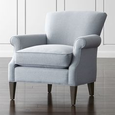 Add extra seating to your space with stylish accent chairs from Crate and Barrel. Shop swivel, rocking and accent chairs in leather and upholstery.