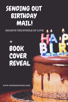 Book cover and birthday love mail. Birthday Letters, Birthday Love, Feminist Poems, Love Mail, Self Love Quotes, Happy Life, Lettering, Book, Cover