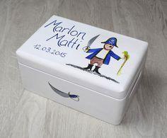 Kisten & Boxen - Spitzbub Erinnerungsbox Erinnerungskiste - Pirat - ein Designerstück von Spitzbub bei DaWanda