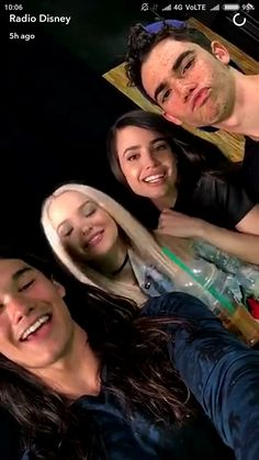 The cast of descendants 2 Dove Cameron Booboo Stewart Sofia Carson and Cameron Boyce