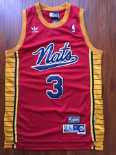 NBA Philadelphia 76ers Allen Iverson Throwback Hardwood Sewn/Stitched Red Jersey