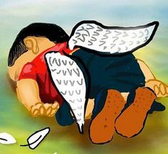 Aylan Kurdi, Drowned Syrian 3-Year-Old, Mourned With Poignant Cartoons Using 'Humanity Washed Ashore' Hashtag
